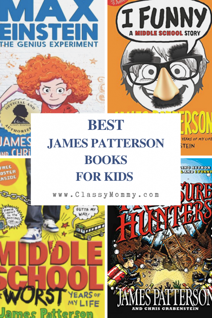 Best James Patterson Books for Kids