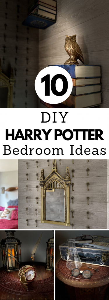10 Ideas to Create Your Own DIY Harry Potter Bedroom