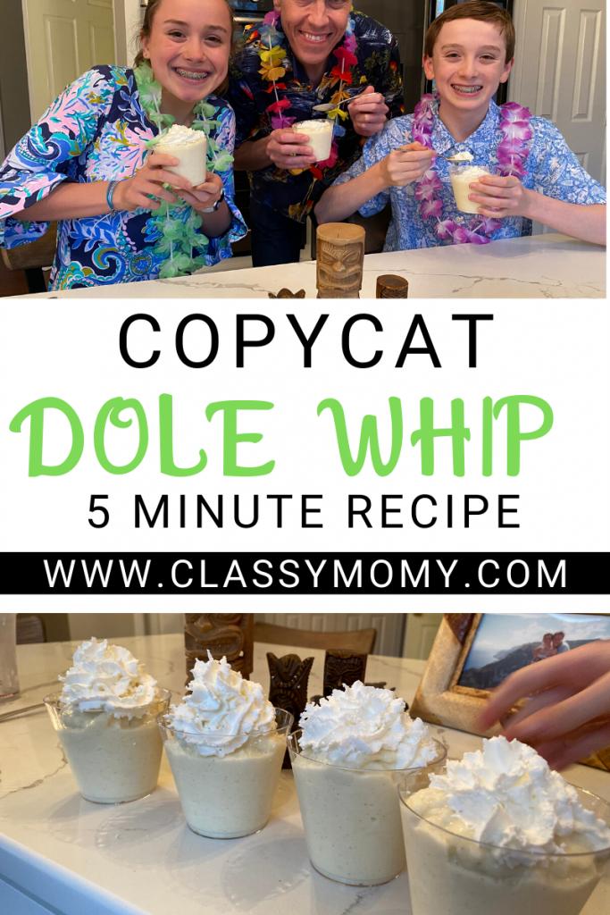 Copycat Dole Whip Recipe