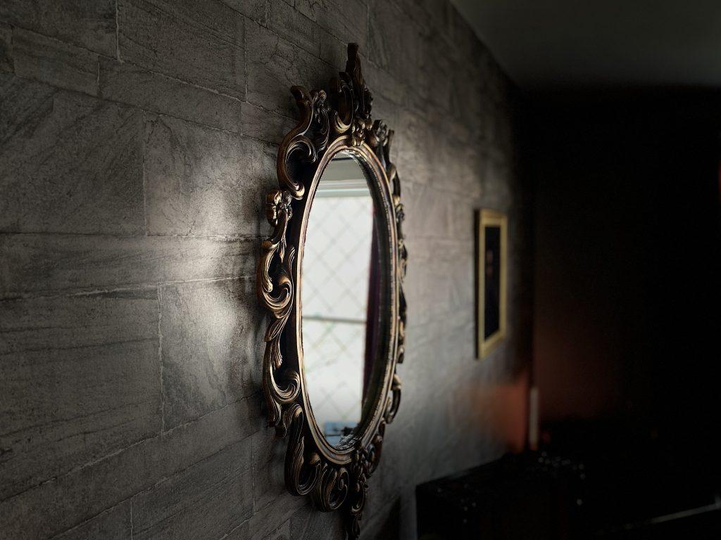 Harry Potter antique mirror