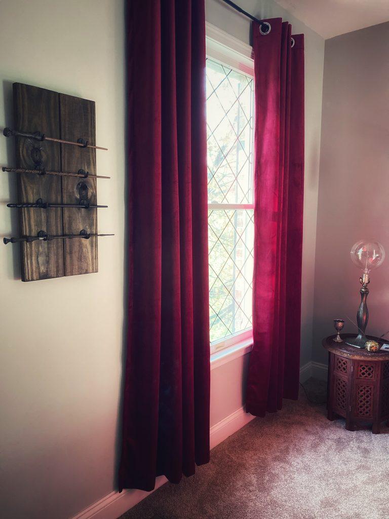 Harry Potter window drapes