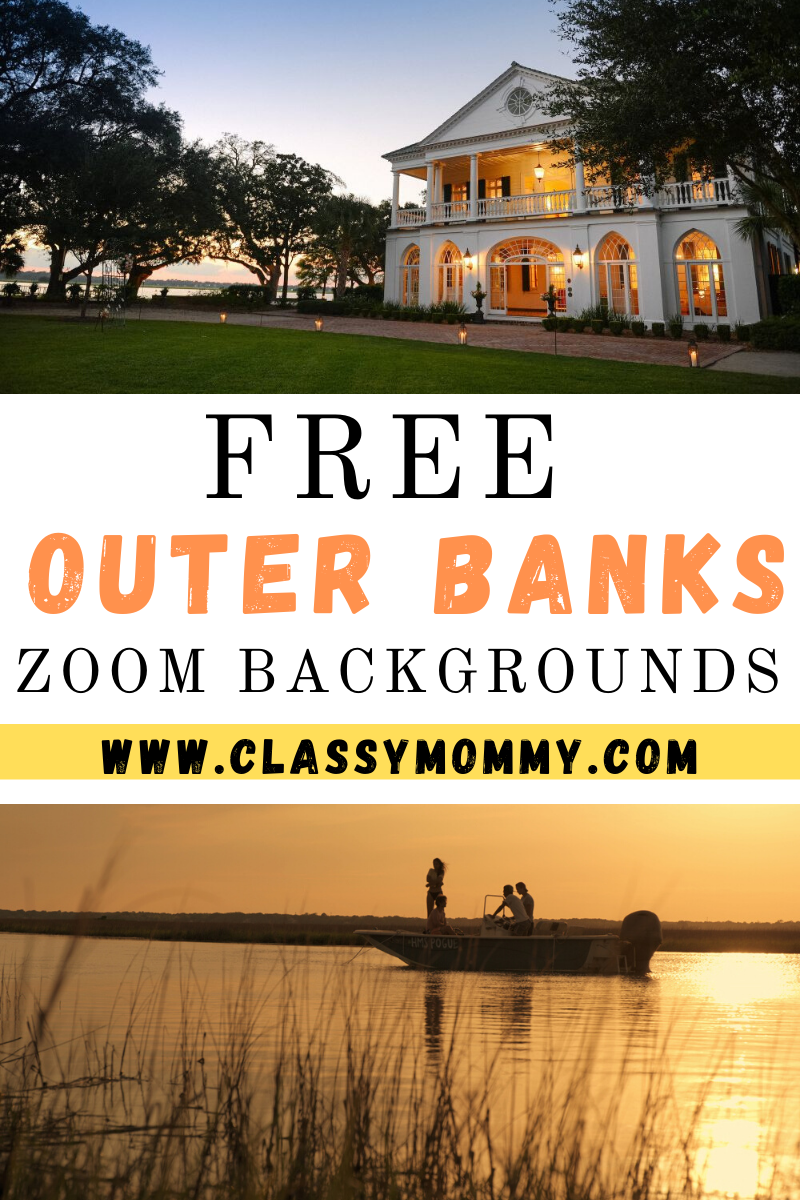 Free Outer Banks Zoom Backgrounds