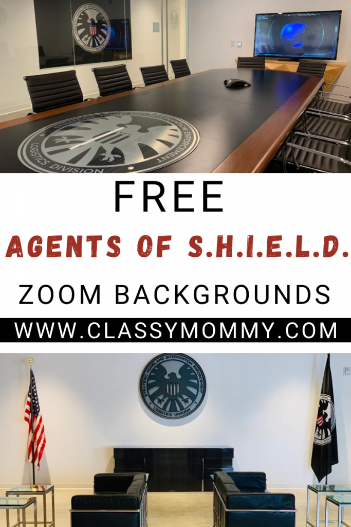 Free Agents of Shield Zoom Backgrounds