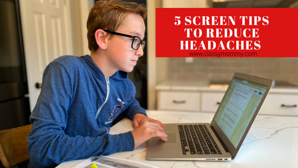 5 Screen Tips to Prevent Headaches and Eye Strain