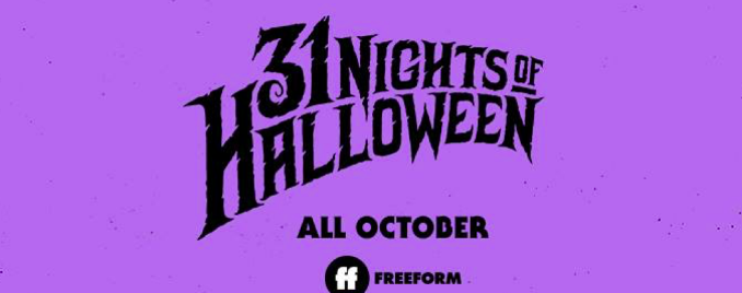 Freeform 31 nights of Halloween 2020 schedule