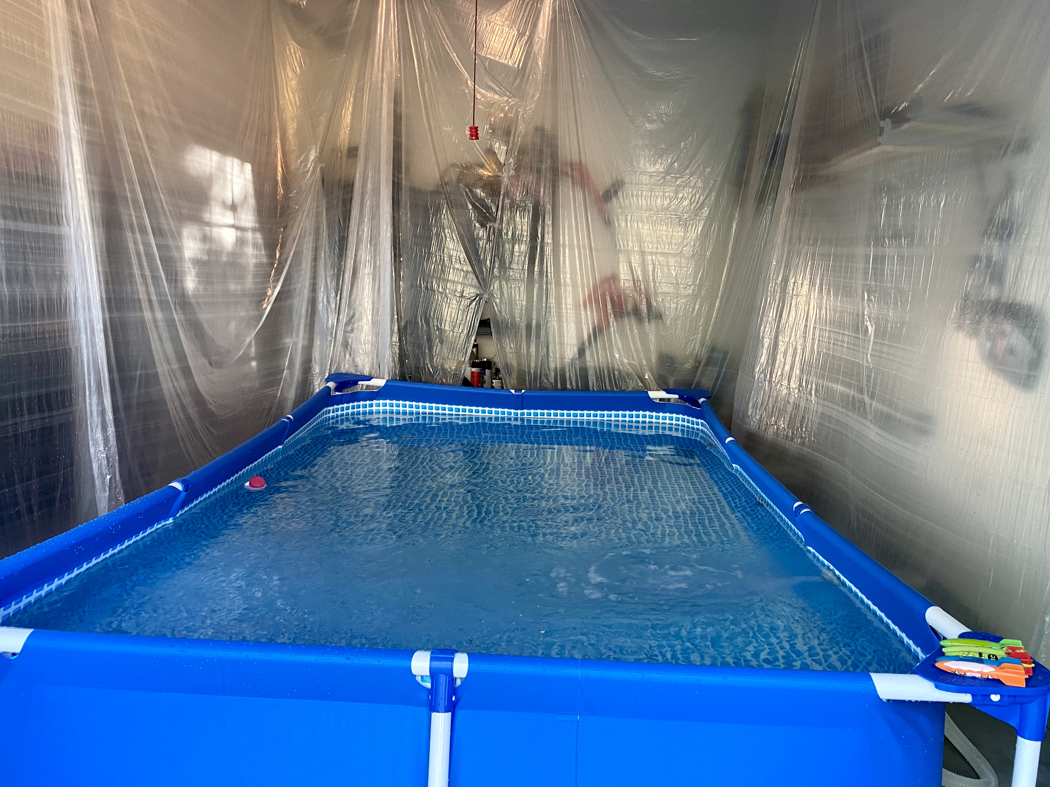 DIY Endless Pool with an adjustable tether