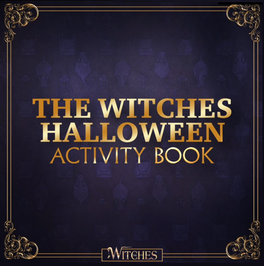 The Witches Free Printable Coloring Pages and Activity Book