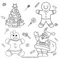 Free Printable Gingerbread Coloring Pages