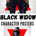 New Black Widow Character Posters