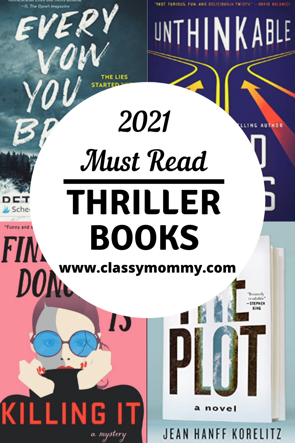 Top 10 Must Read Thriller Books from 2021